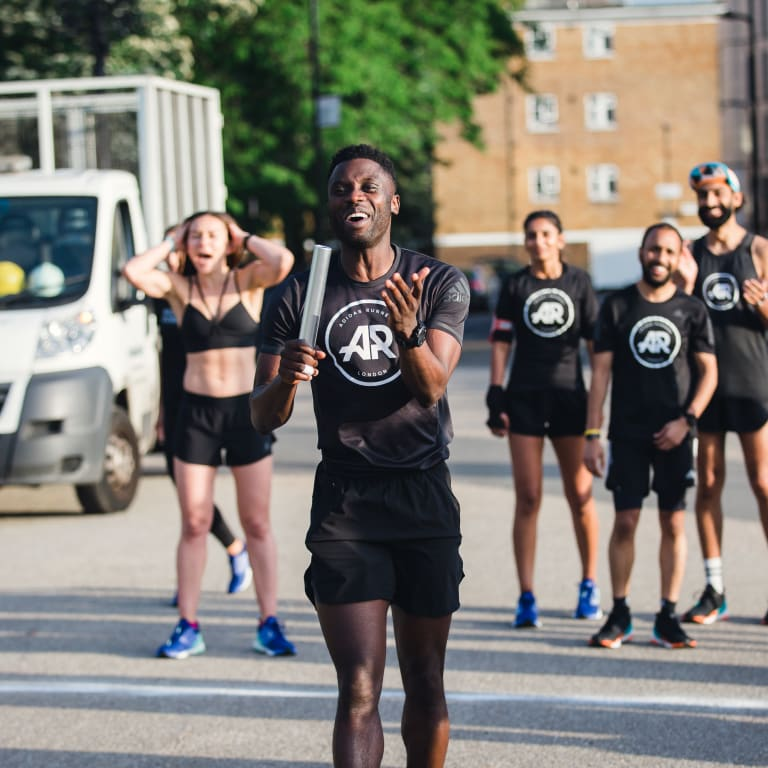Moretón Bergantín Resplandor  adidas Runners - London